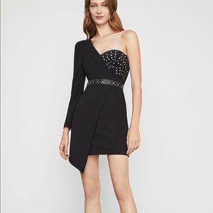 BCBGMaxAzaria Asymmetrical One Shoulder Dress